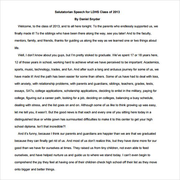 Conclusion essay ideas for high school
