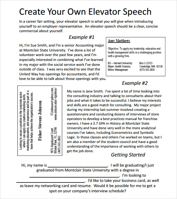 8 student council speech samples pdf
