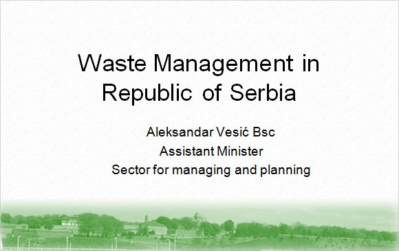 waste management presentation