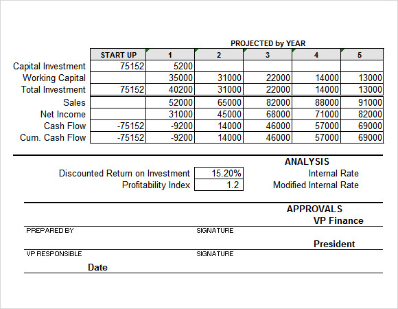 Project Summary Templates For Free Download Sample Templates - Project summary template excel