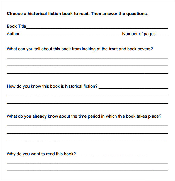 Book Analysis Template  CityEsporaCo