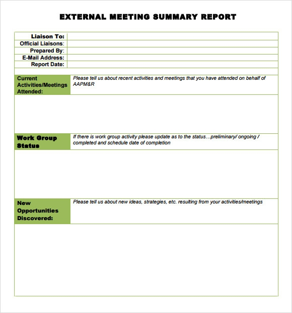 Sample Summary Report Template. 9+ Executive Summary Report Sample