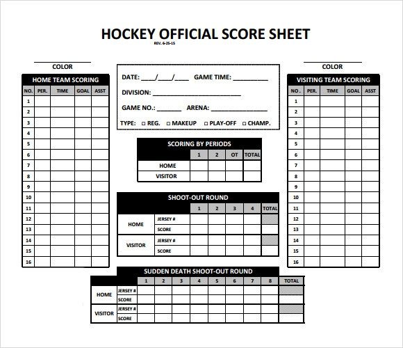 Hockey Roster Template  BesikEightyCo