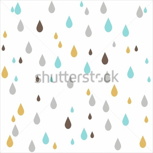 Sample Raindrop Template   Documents Download In Pdf Vector Eps