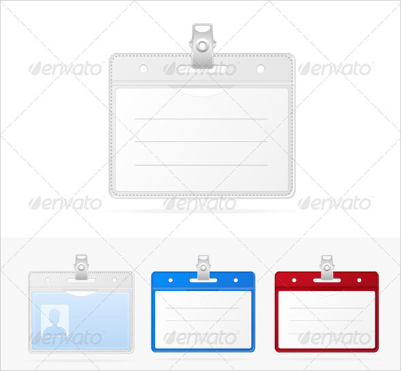 11 id badge templates sample templates for School id badge template