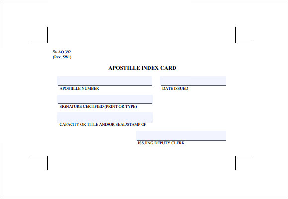index card template download