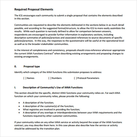 Sample Rfp Response Template   Free Documents In Pdf