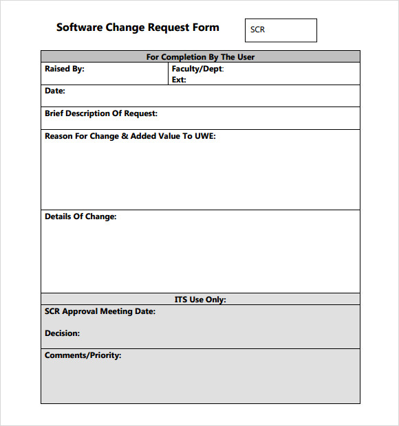 change request form template | datariouruguay