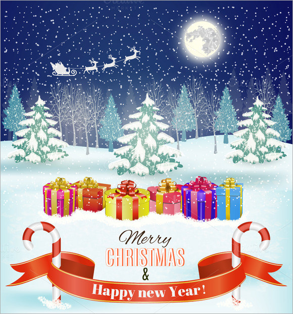 Sample Christmas Poster Template -19+ Download Documents In Psd