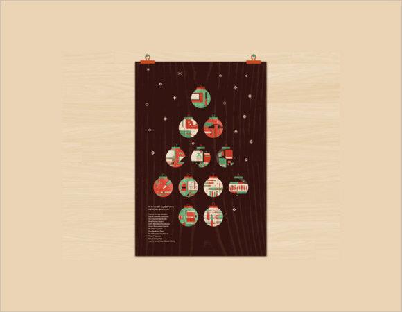 designers christmas poster