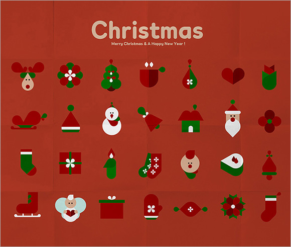 xmas poster template1