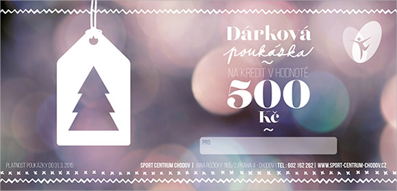 christmas voucher design