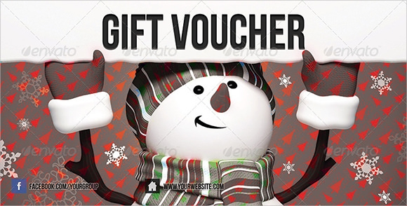 Christmas Vouchers   Psd Adobe Illustrator