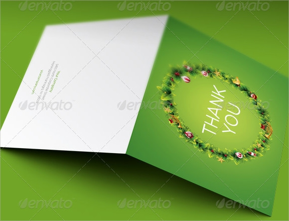 christmas thank you cards personalised