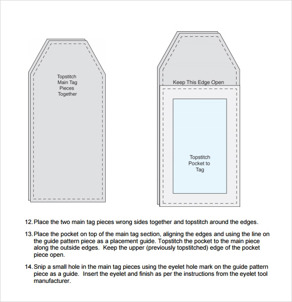 Luggage Tag Template - 29+ Download Free Documents in PDF ...