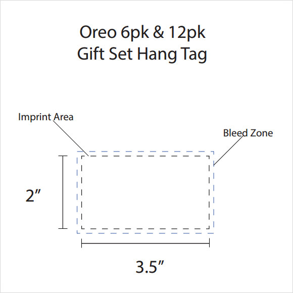 bon Hang Tag Template PDF