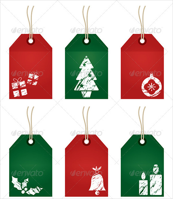 Sample Christmas Tag Templates   Documents In Pdf