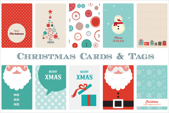 Printable Christmas Tag Template