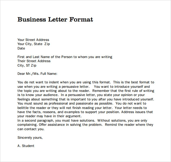 9 official letter templates pdf sample templates official letter example pdf spiritdancerdesigns