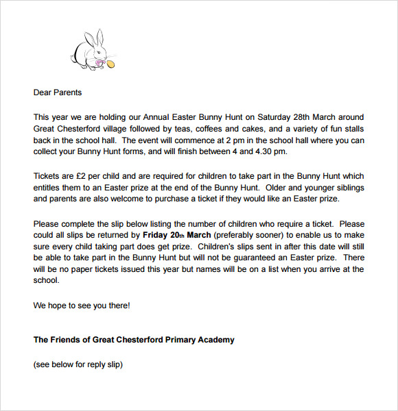 photo about Easter Bunny Letterhead known as Easter Bunny Letter - 7+ Down load Cost-free Files within just PDF , Phrase