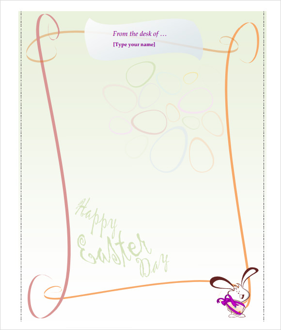 Easter bunny letter 7 download free documents in pdf word for Letter to easter bunny template