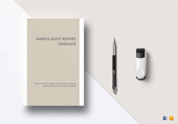 10 sample audit report templates sample templates