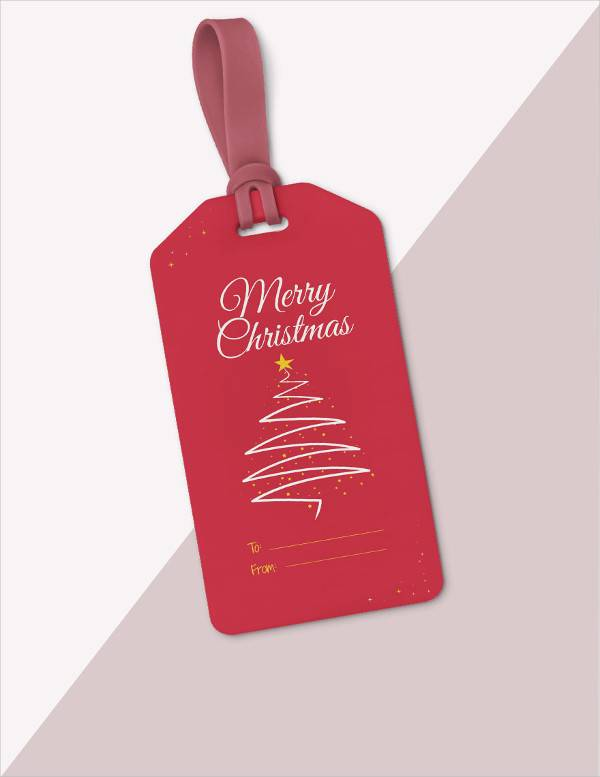 free christmas gift tag template