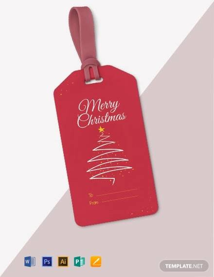 free christmas gift tag template1