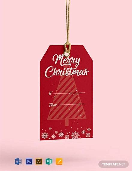 free christmas tag template1