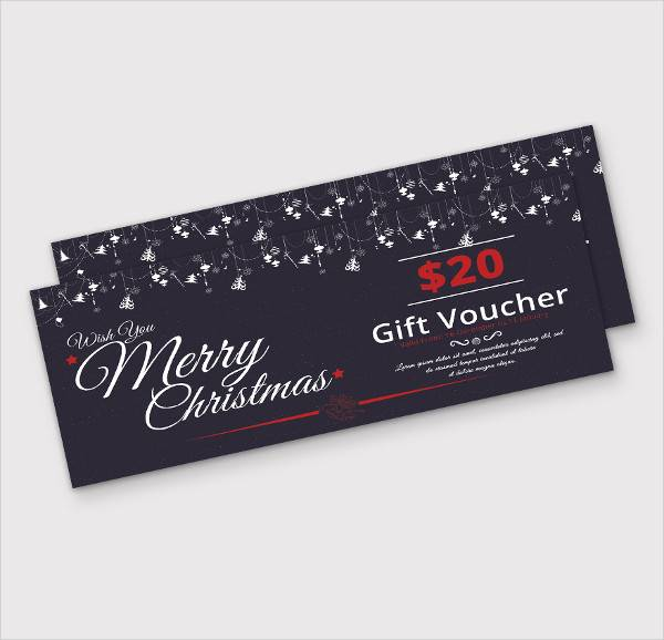 generic christmas gift voucher