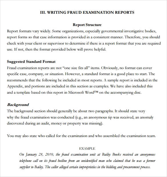 Perfect Report Writing Format For Student In Writing Formats