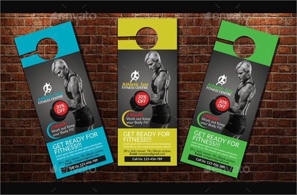 Healthcare Door Hanger PSD