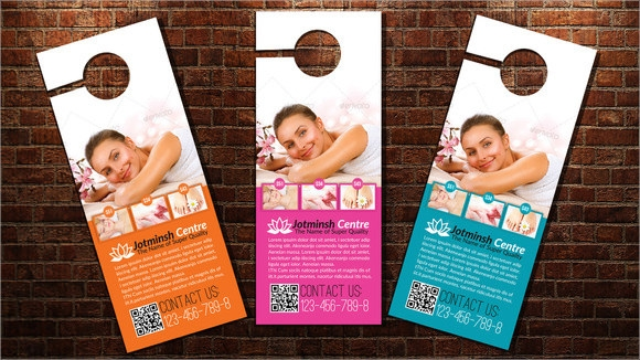 Sample Healthcare Door Hangers  Psd Vector Eps