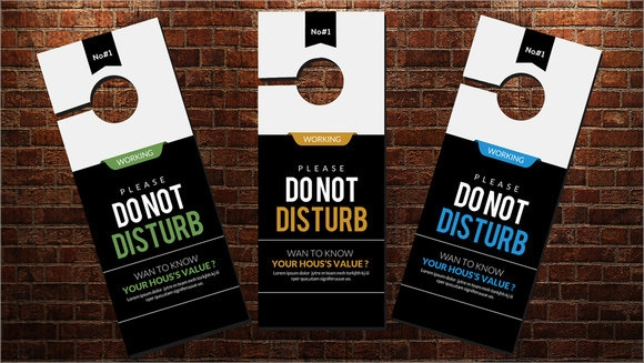 do not disturb wedding door hanger template