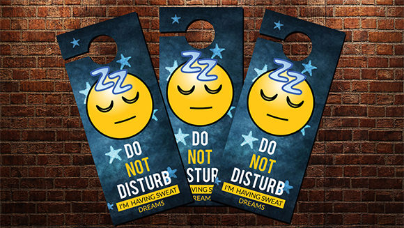Do Not Disturb Door Hanger Printable