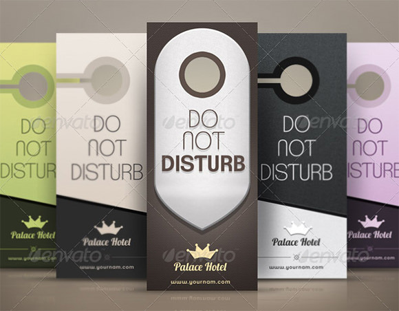 Sample Healthcare Door Hangers