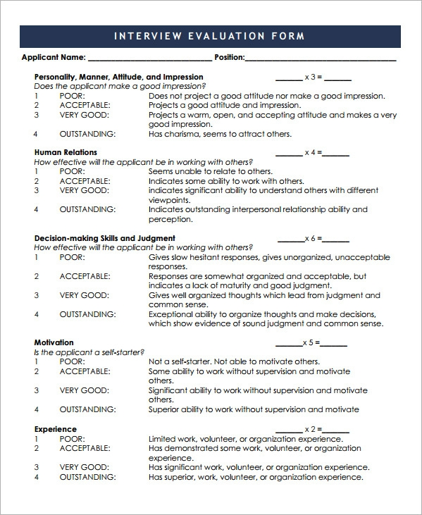 search results for interview evaluation template calendar 2015