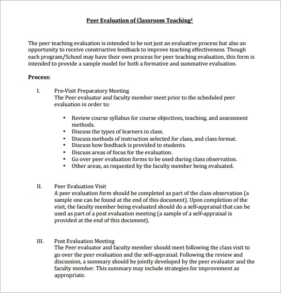 group evaluation form template .