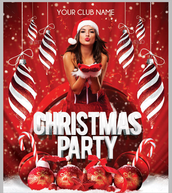christmas photoshop flyer templates