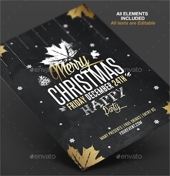 Christmas Flyers  Psd Vector Eps