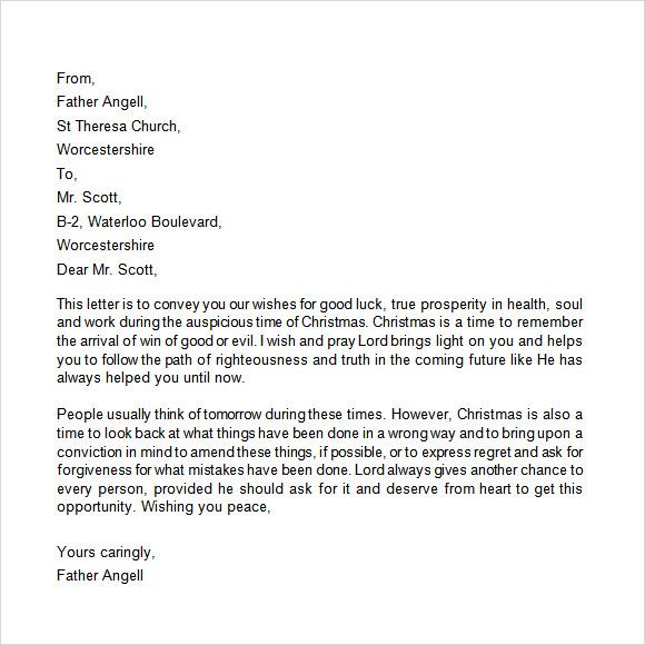 19  christmas letter templates