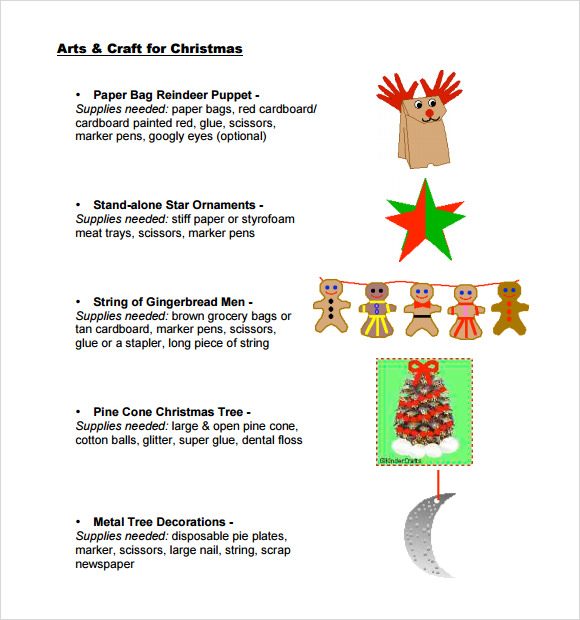 Christmas Paper Craft Templates  Ye Craft Ideas