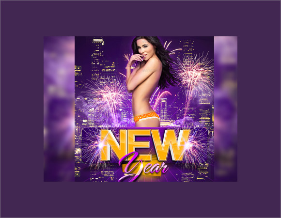 sexy new years eve flyer template