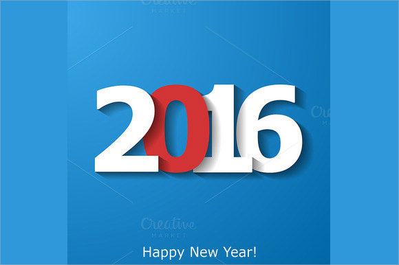 creative new year 2016 brochure template