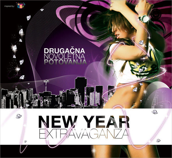 new year extravaganza brochure