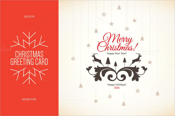New Year Greeting Card Templates  Download Documents In Pdf