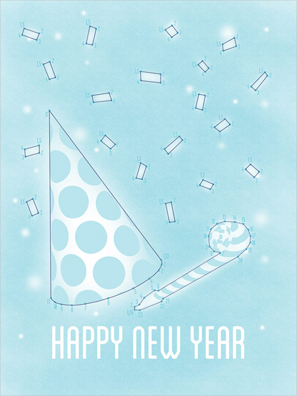 20+ New Year Greeting Card Templates - Download Documents In Pdf