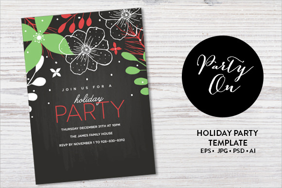 new years party invitation wording
