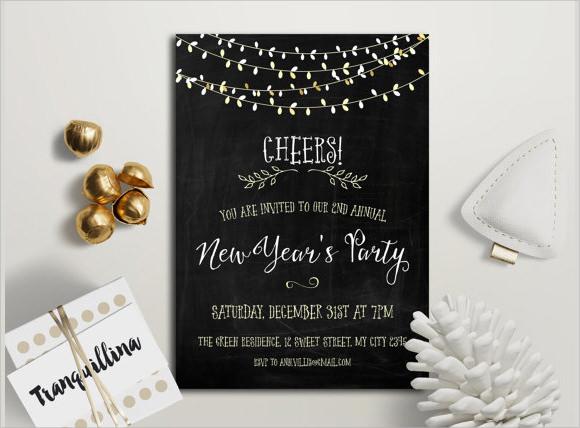 sample new year invitation templates