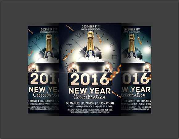 25 new year invitation templates to download sample templates new year party invitation template stopboris Choice Image